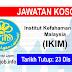 Job Vacancy at Institut Kefahaman Islam Malaysia (IKIM)