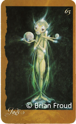 Faeries' Oracle Indi