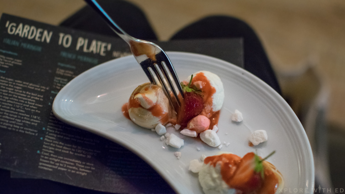 Meringue, Dessert, Turkish Delight, The Celtic Manor, Taste Testing