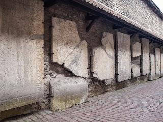 Южная стена бывшего доминиканского монастыря Святой Катарины