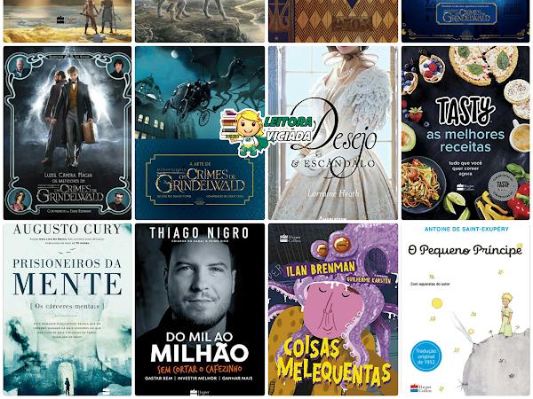 Lançamentos: HarperCollins Brasil e Harlequin Books