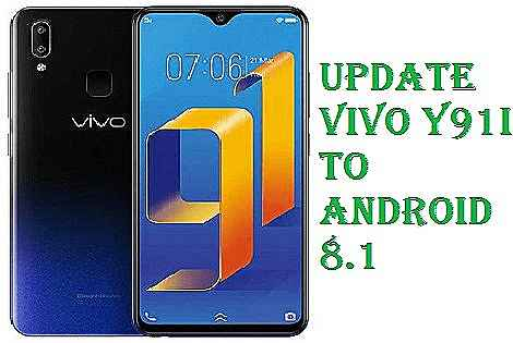تفليش ،وتحديث ،جهاز،  ،Firmware، Update، Vivo، Y91i، Android، 8.1