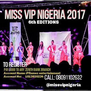MISS VIP NIGERIA 2017