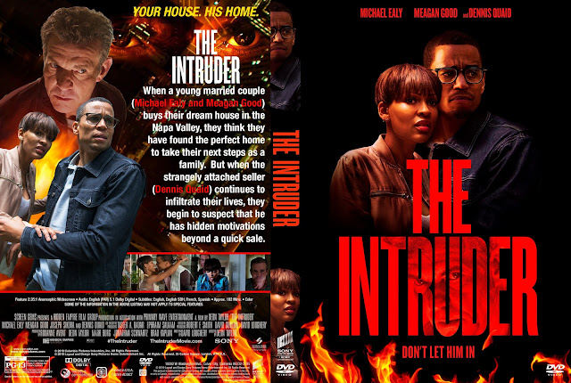 The Intruder DVD DVD Cover