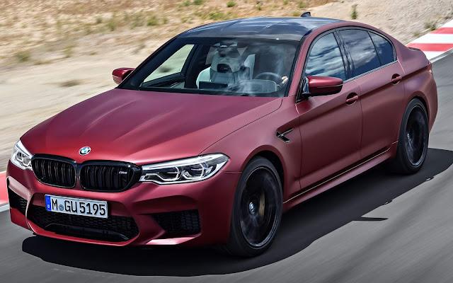 Novo BMW M5 2018