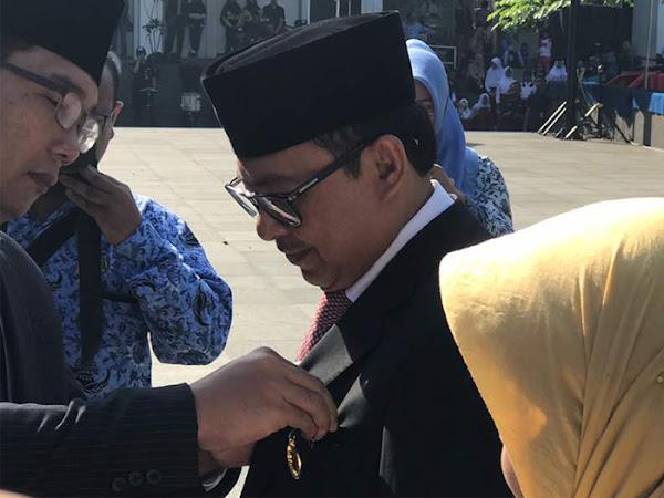 Para Penerima Satyalancana Karya Satya Pemerintahan Kota Bandung Tahun 2017