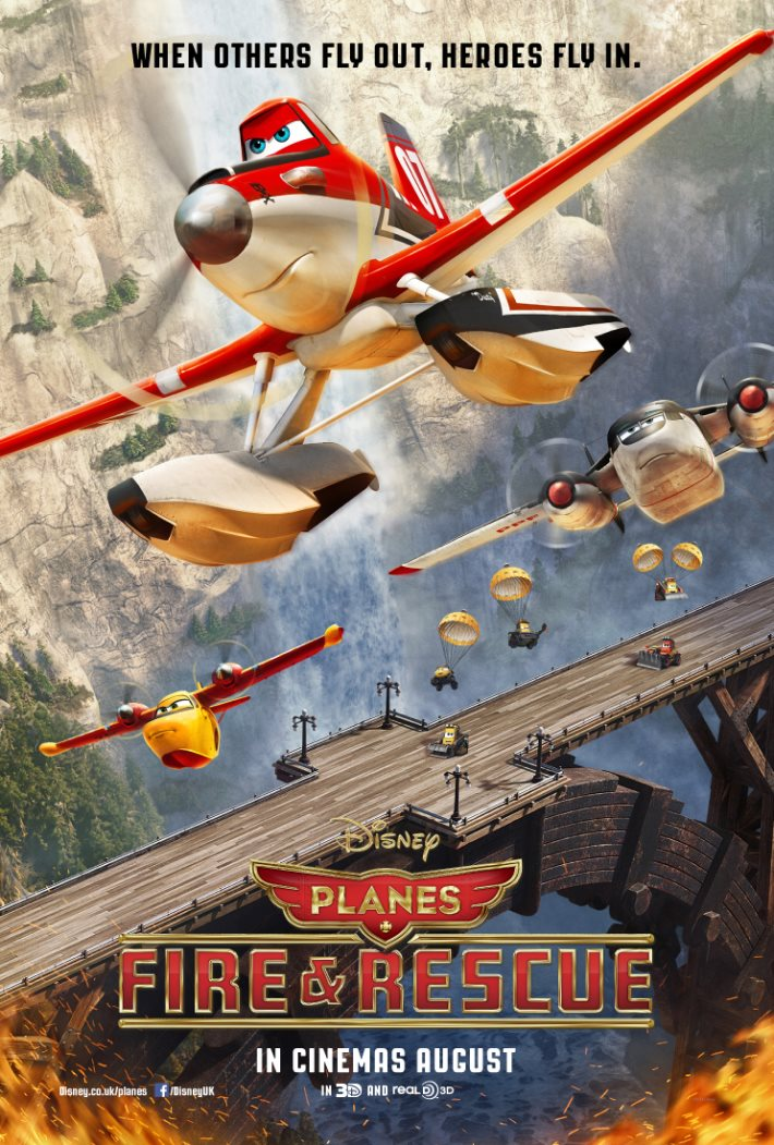 Poster 2: Planes Fire & Rescue