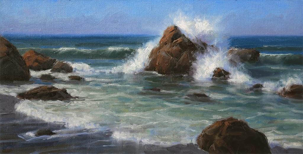 Calahan Fine Art Blog: Rocky Beach