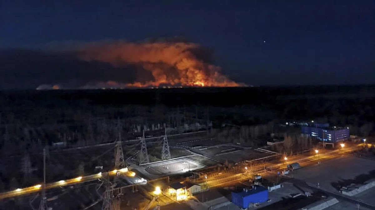 Chernobyl: The Fire Very Close To The Nuclear Factory Went Out After 11 Days