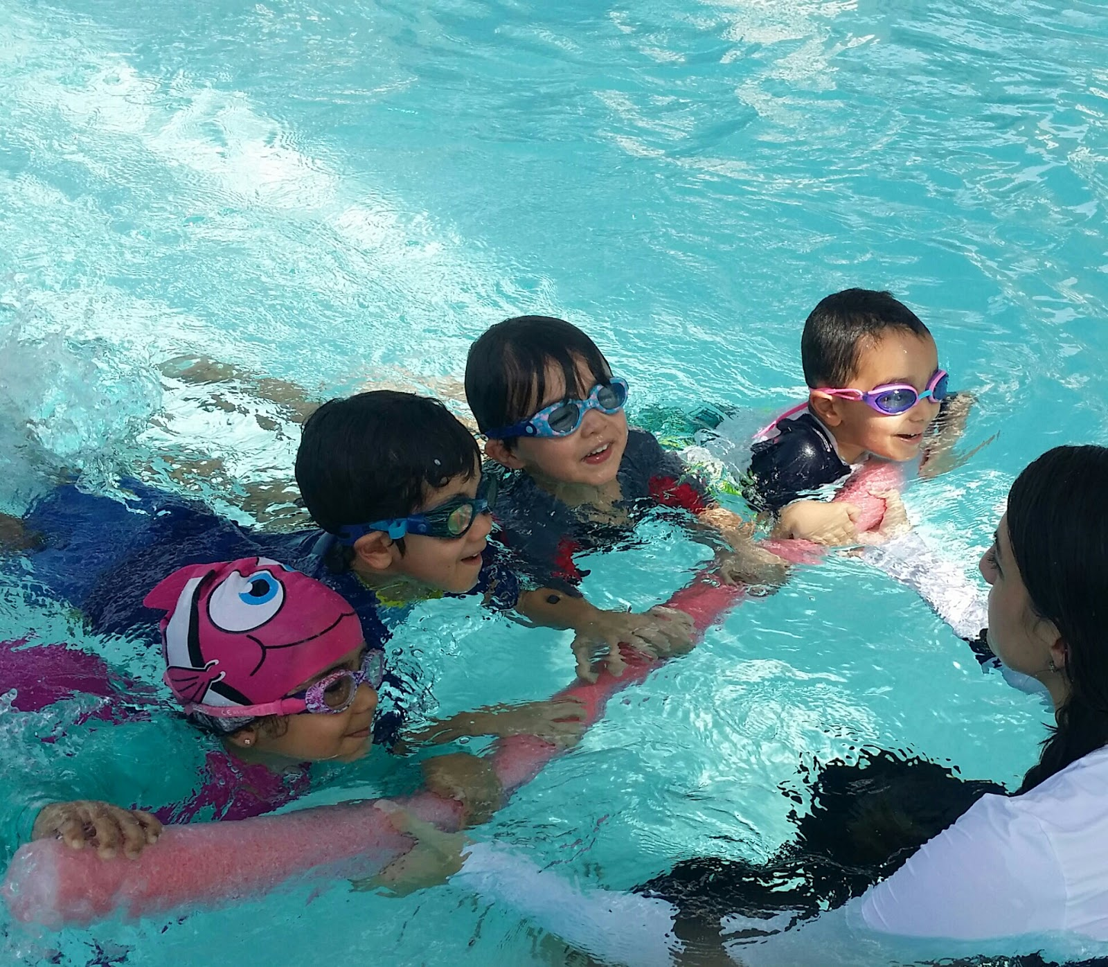 BritSwim learn to swim class Muscat schools