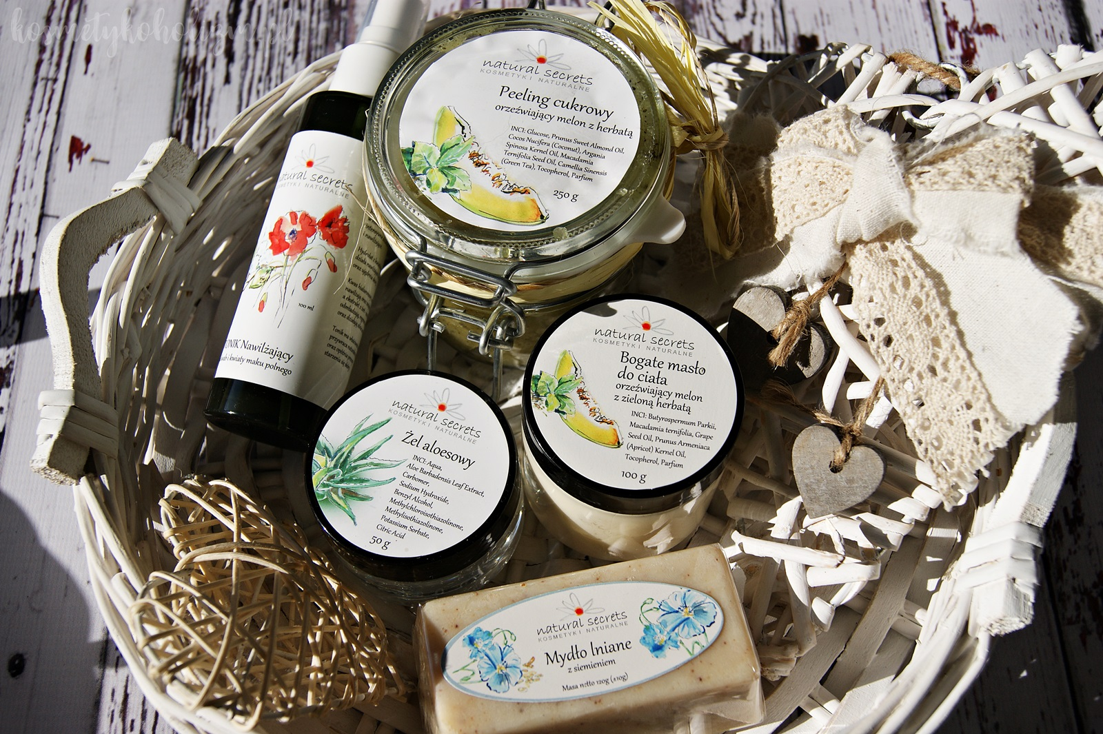Natural Secrets naturalne, ręcznie produkowane kosmetyki