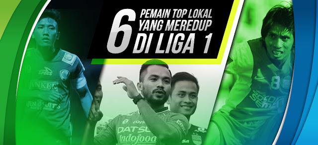 6 Pemain top lokal yang meredup di Liga 1