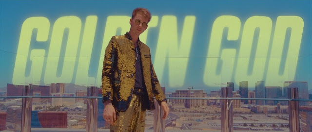 "Machine Gun Kelly Premieres ""Golden God"" Video"