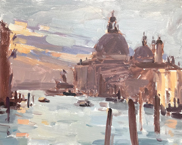 #368 'First Light, Maria Della Salute' 8×10″