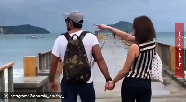 Spotted: Gerald Anderson and Bea Alonzo having a #BabeTime in Palawan