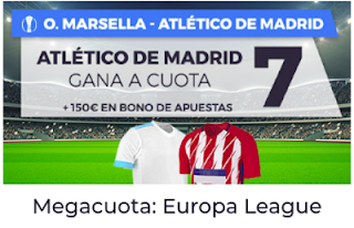 Paston Megacuota Europa League: O. Marsella vs Atletico 16 mayo