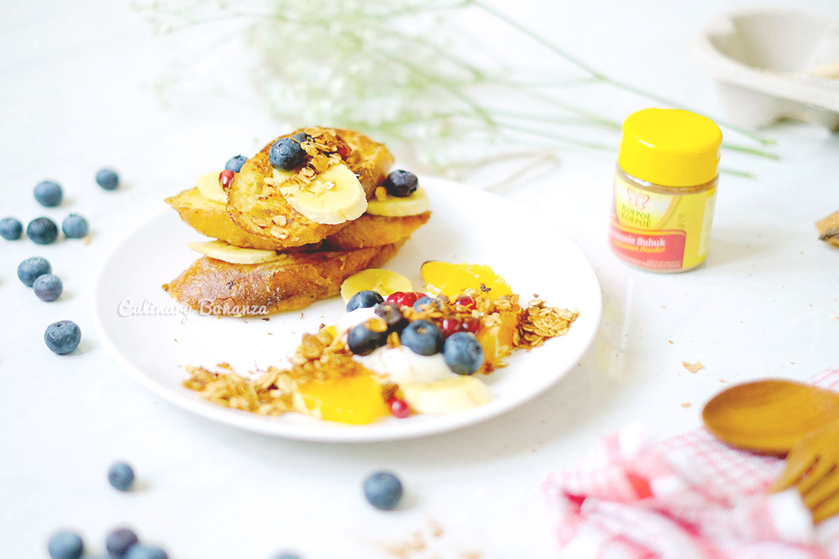 #Resep15Menit hipster French Toast (www.culinarybonanza.com)
