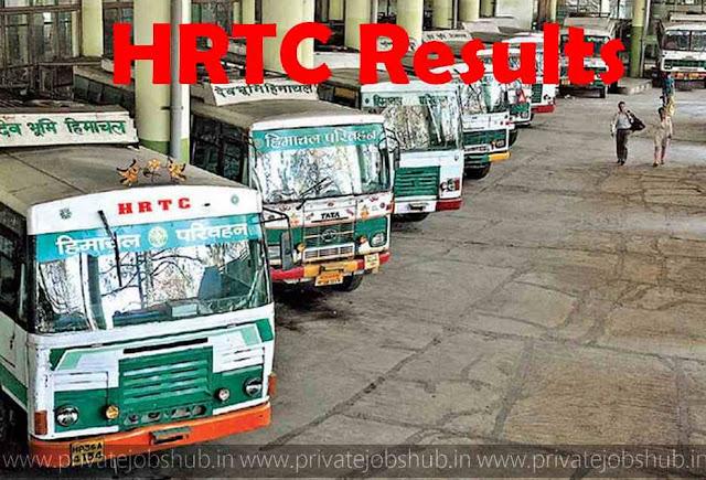 HRTC Results