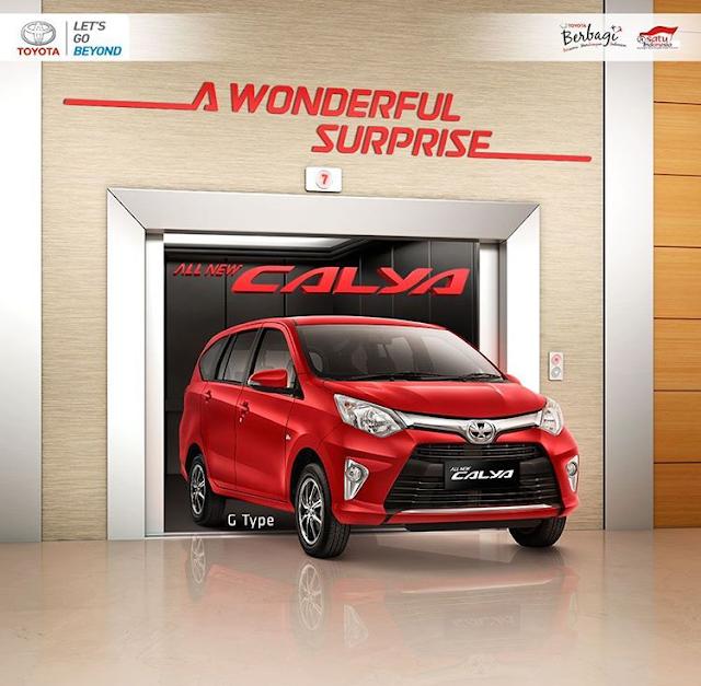 Harga Resmi Toyota Calya Pekanbaru Riau