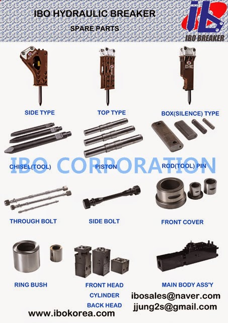 IBO CORPORATION: IBO Hydraulic Breaker (jack hammer) parts ...