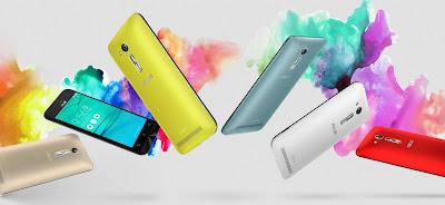 ASUS ZenFone ZB452KG available colors