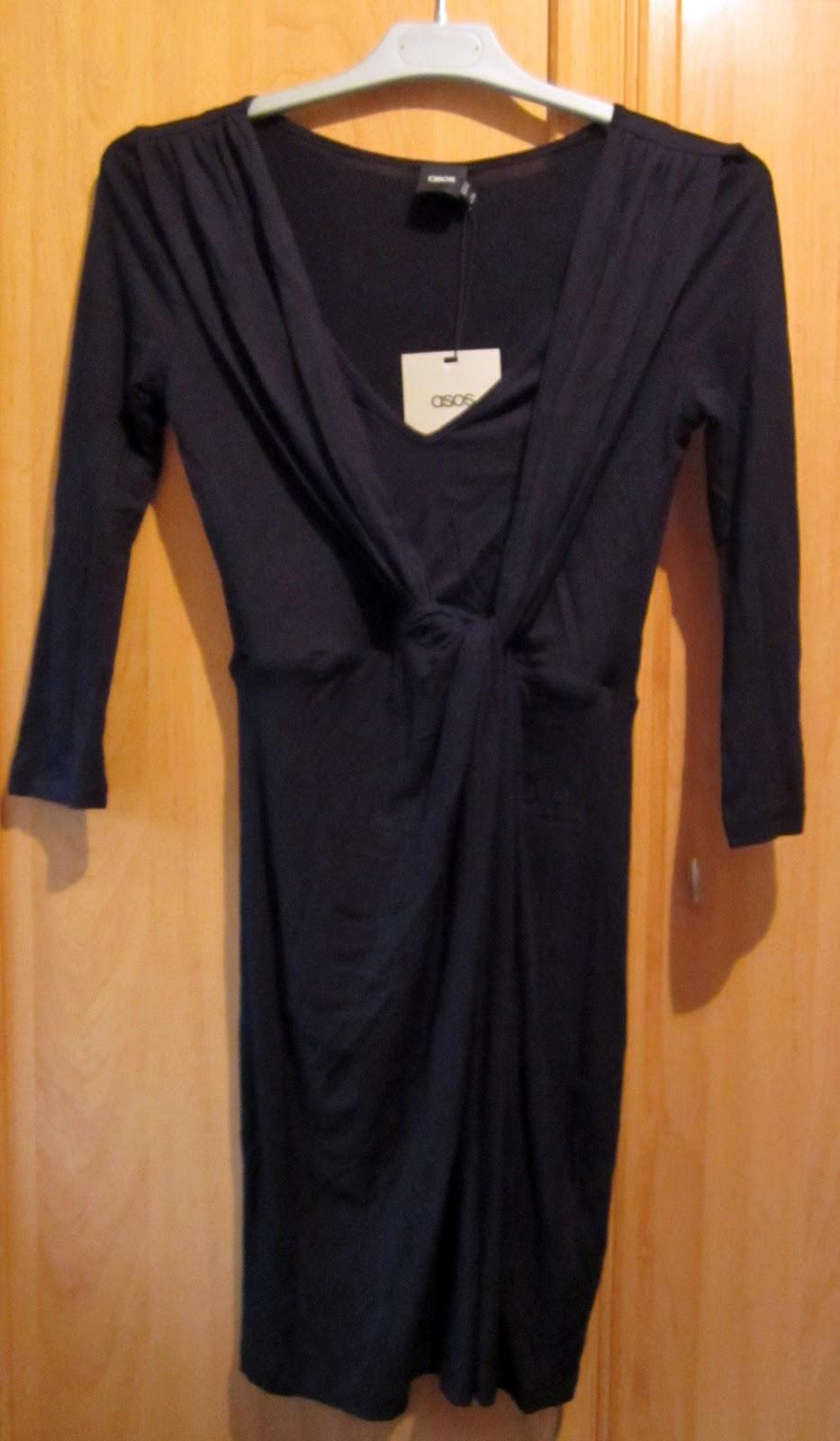 vestido negro de asos