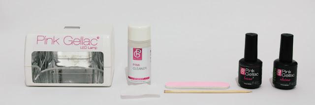 Pink Gellac esmaltes permanentes