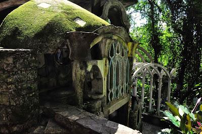 Detalle estructuras Las Pozas