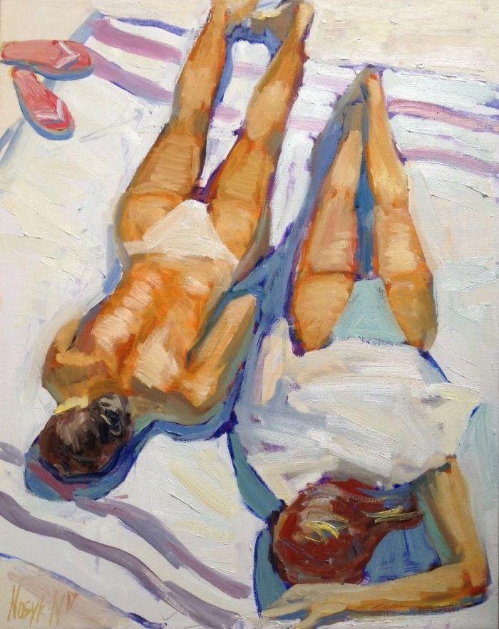 Украинский художник. Natalia Nosyk