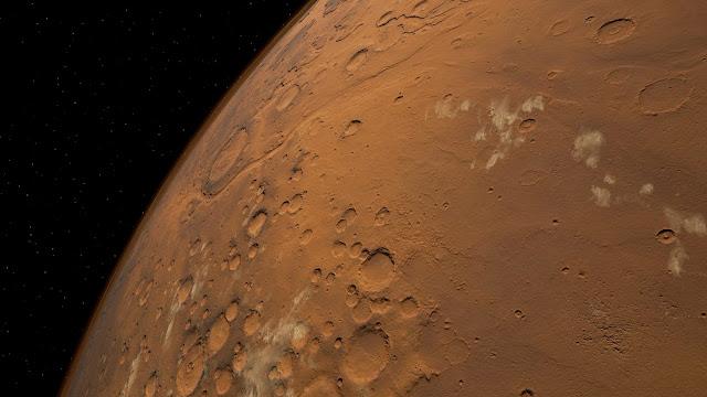 Mars 2030 VR image - planet
