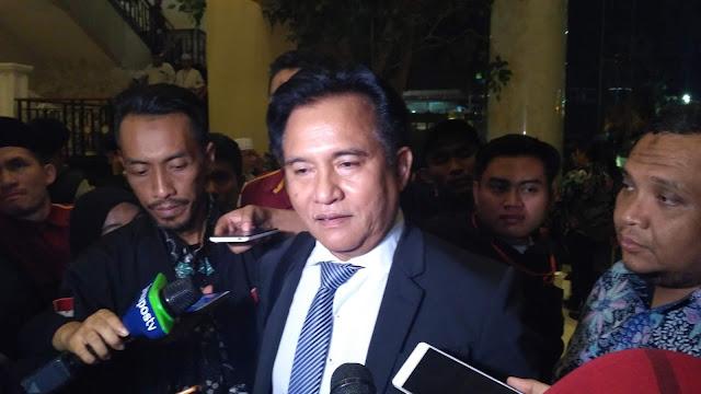 Terungkap, Ini Alasan Kubu Jokowi Gandeng Yusril