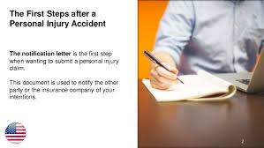 First Steps in a Personal Injury Claim