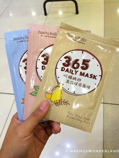 Beauty Buffet by Watsons - 365 Daily Mask: 3 for P100
