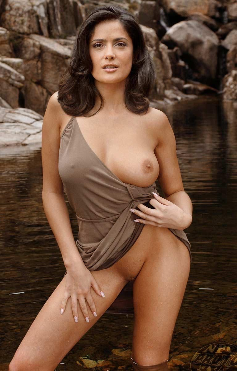 Naked salma boobs hayek