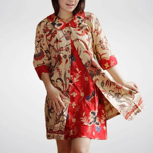 Model Baju Batik Terbaru: Model Baju Batik Atasan
