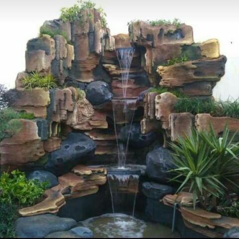 tukang kolam koi minimalis sidoarjo   jasa pembuatan kolam
