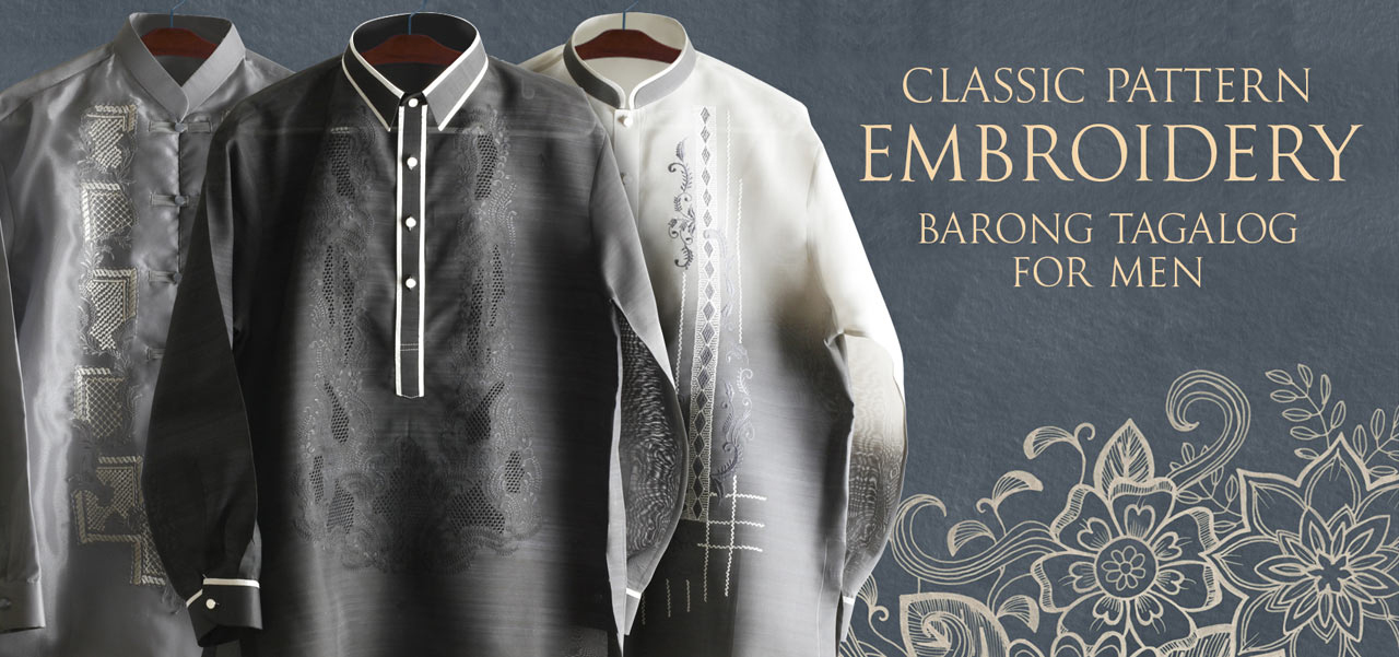 dee938535be New Styles Barongs R Us committed to offer qualitative and extensive range  of original Barong suits