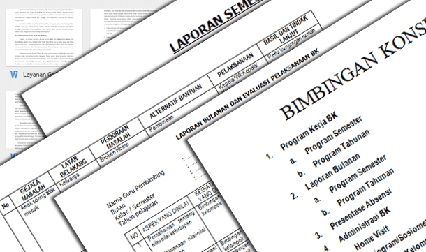 Berikut ini ialah berkas Contoh Program Layanan dan Format Administrasi Guru BK Kurikulu Contoh Program Layanan dan Format Administrasi Guru BK Kurikulum 2013