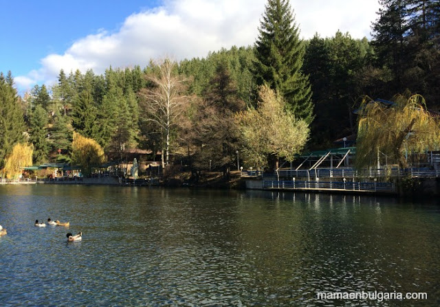 Lago Kleptuza, Velingrad, Bulgaria