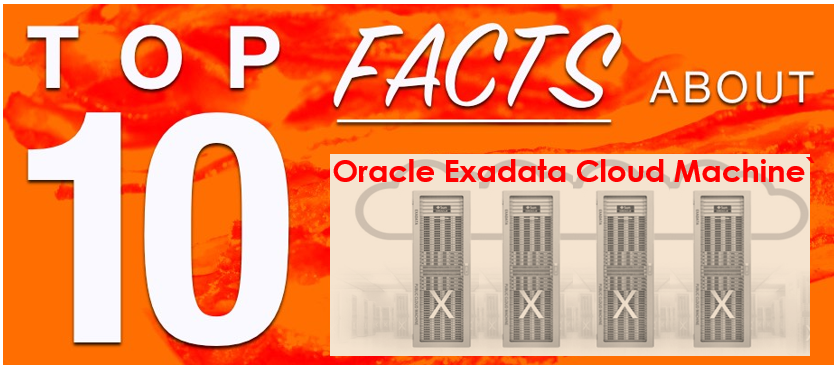 Top 10 Facts About Oracle Exadata Cloud Machine | Exadata Certification