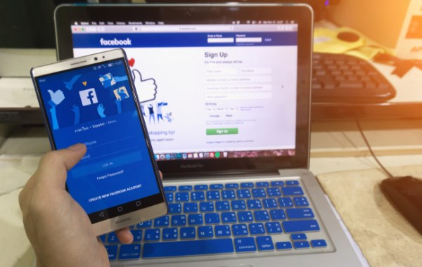 Online Facebook Login and Sign Up