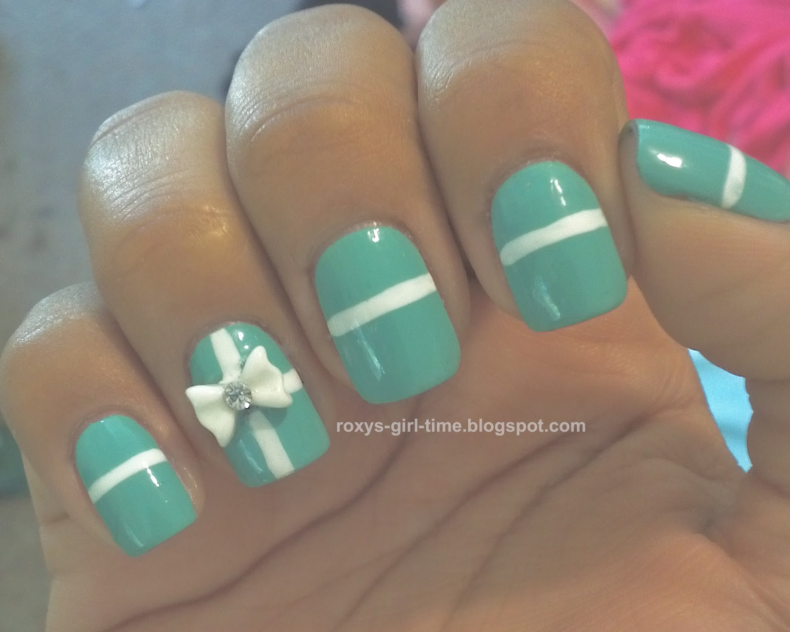 Roxy S Girl Time Notd Tiffany Manicure