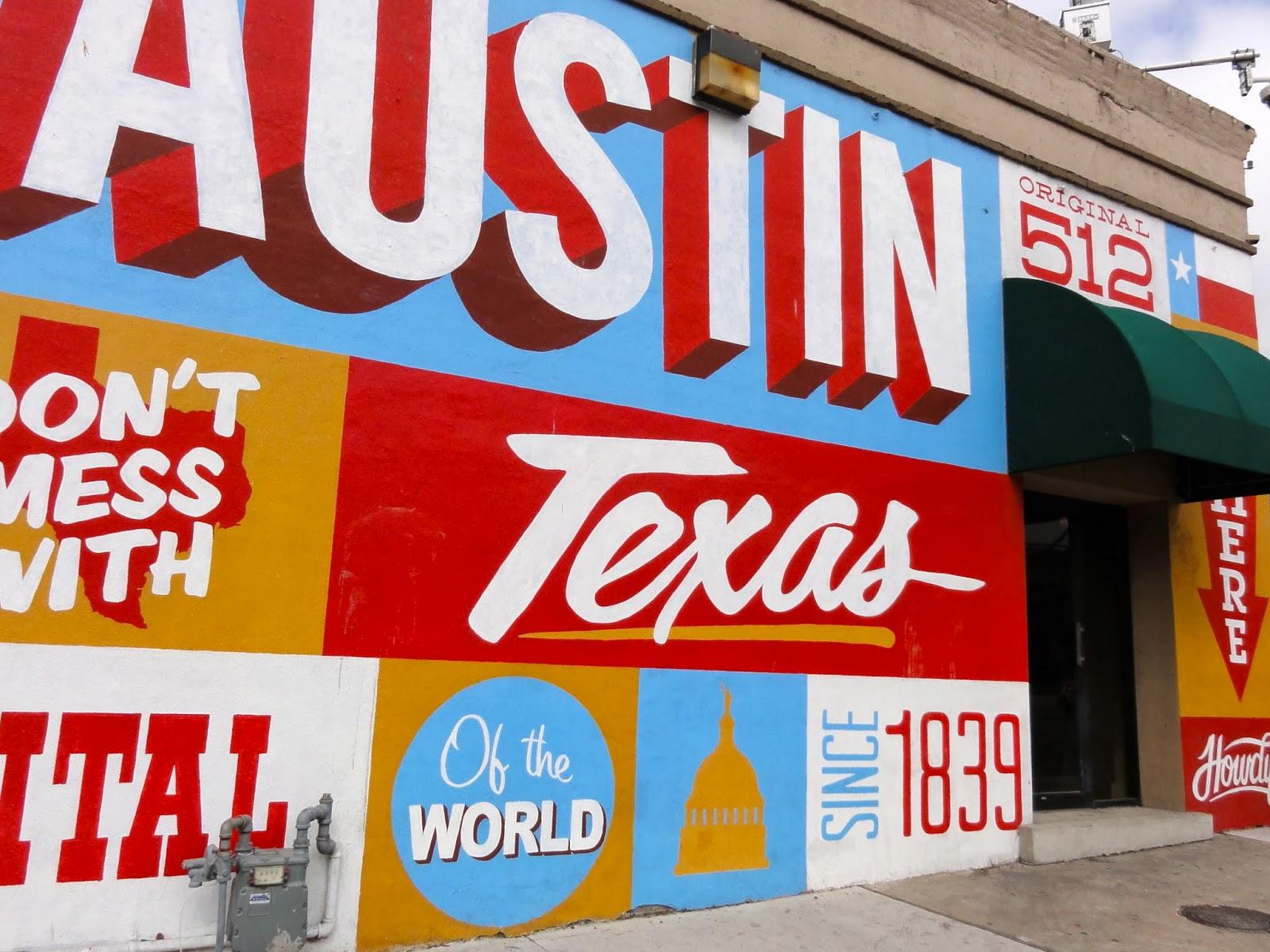 Austin art found downtown