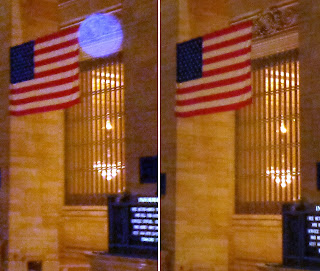 orb on flag
