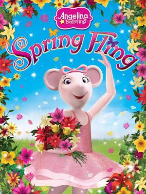 Angelina Ballerina: Spring Fling 2015 DVD R1 NTSC Latino