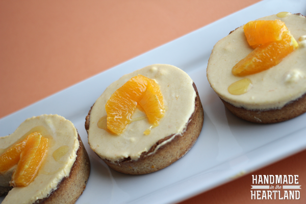 Mango Citrus Cream Tart with a Toasted Almond Crust