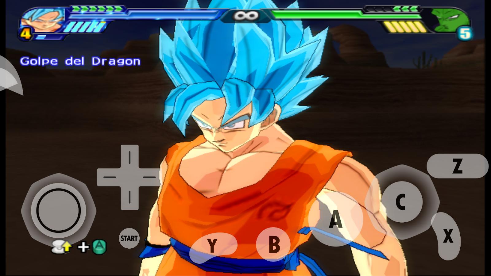 Resultado de imagem para Dragon Ball Z Budokai Tenkaichi 3 EMULADOR