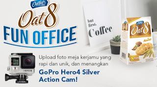 Lomba Foto Oat8 Fun Office Berhadiah GoPro Hero dan Voucher Belanja