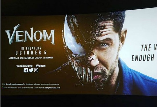 Mini Movie Review Tom Hardy in Venom Sony Universe