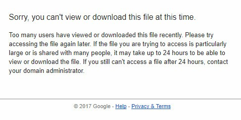 How to fix limit google drive | Rex Sniper Blogspot